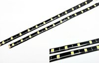 High Power 12 SMD LED Strip Parking Signal Light DRL Fog Lamp Motorcycle white