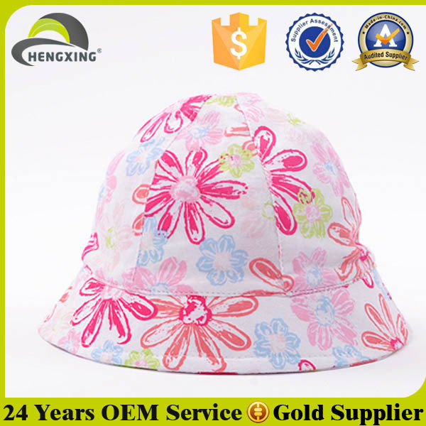 High Quality New Design Kids Plain Bucket Hats