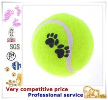 Wholesale Plush Pet Products eco friendly tennis ball