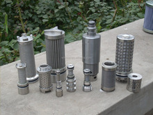 Stainless steel Water spray filter and filter element for Coal mine equipment