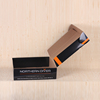 Luxury Black Custom Foldable Corrugated Cardboard Box
