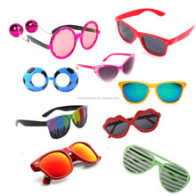 dancing party glasses,novelty party sunglasses,fancy plastic sunglasses