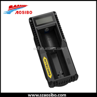 5V 1A battery charger Nitecore um10 Micro USB Charger 18650, AA, AAA 3.7V, 1.2V Rechargeable Battery Charger