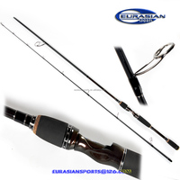 Carbon Spining fishing rod,2pcs fast tip,10-40g,2.40m graphite bass trout weihai fishing rod factory wholesale sourcing retail