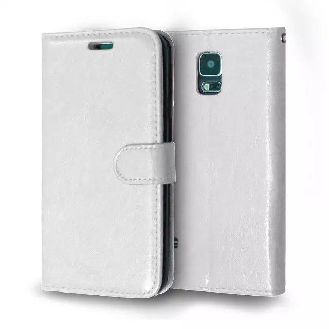 For Samsung Galaxy S5 Magnetic Flip PU Leather Wallet Case with Photo Frame Card Holder Stand fundas Mobile Phone Cover