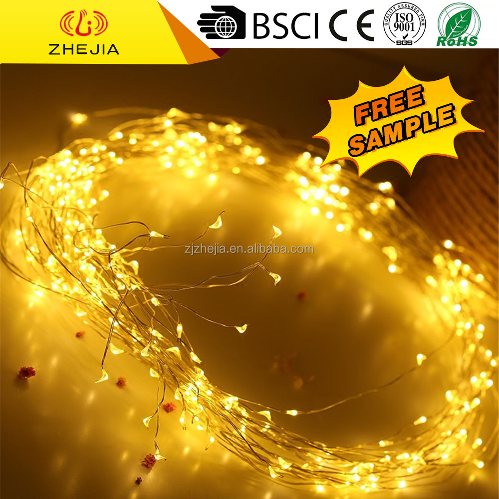 outdoor decorative lighted balls christmas lights motif micro copper wire led string light