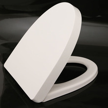 China supplier soft down closed front quick release white PP material toliet seat covers