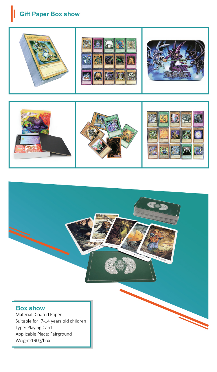 Wholesale Tarot Playing Card Set Printing Custom Card Game With Full Color