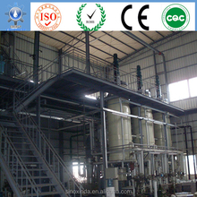 project building used vegetable oil process biodiesel plant for power generation