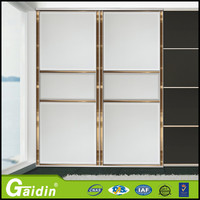 Guangdong manufacture 1 fixed 1 sliding shower door