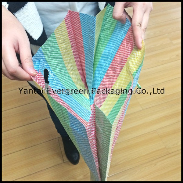Laminated polypropylene woven shopping bags made by recycled material