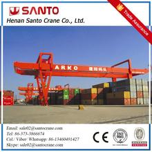 Loading And Unloading 40Ton Rmg Container Handling Gantry Crane