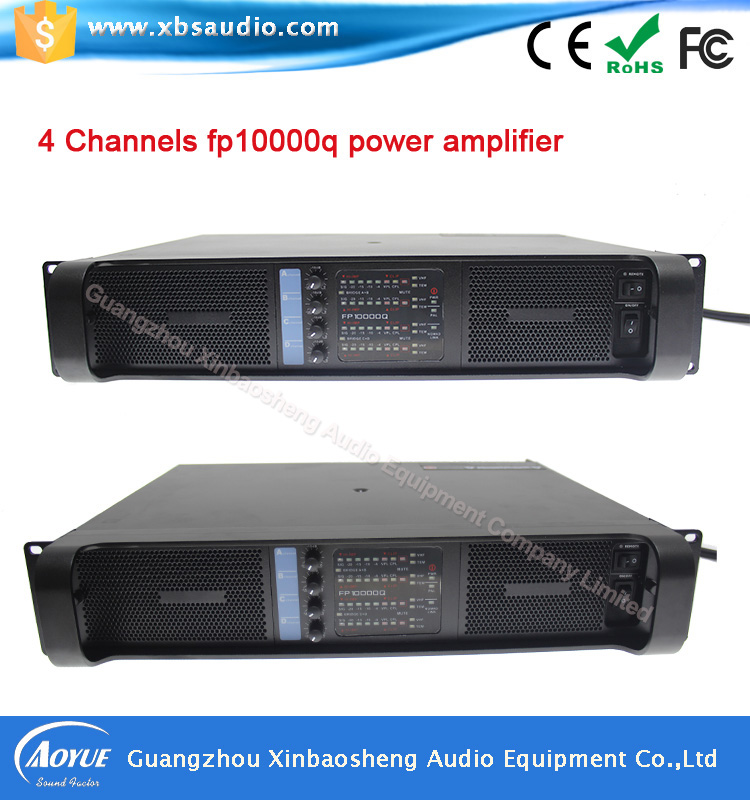 High quality NEW FP10000Q professional power amplifier 1000W three year warranty with CE ROHS