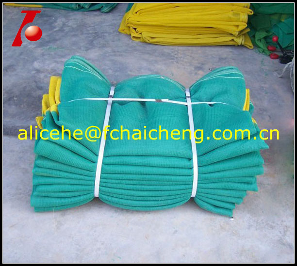 2014 new best sell hdpe knitted soft construction safety netting