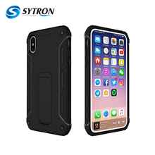 Anti shock kickstand phone back cover for iphone x,smartphone case for iphone x,smart phone case for iphone x