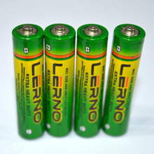 Carbon Zinc AAA dry cell battery