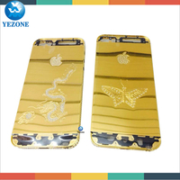 Factory Price For Iphone 5 24k Gold Housing,For Iphone 5 Back Cover Housing,For Iphone 5 24k Gold Plating Back Cover
