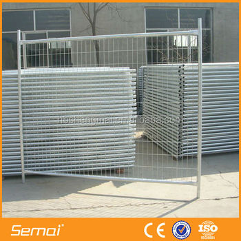 Hot sale high quality welded temporary fence panel