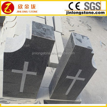 Small Baby Tombstone with Cross