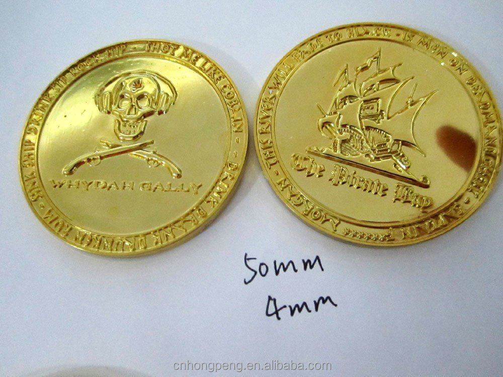 plastic pirate gold coins