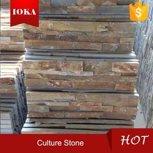 Nature Rusty Culture Stone For Outdoor&Indoor Decoration