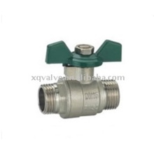 Many Years Factory With Coupling Mini Plastic Check Silical Sol Casting Ball Valve