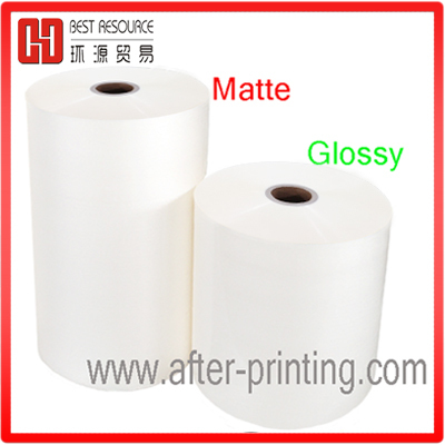 matte packaging film Type and Soft Hardness bopp film