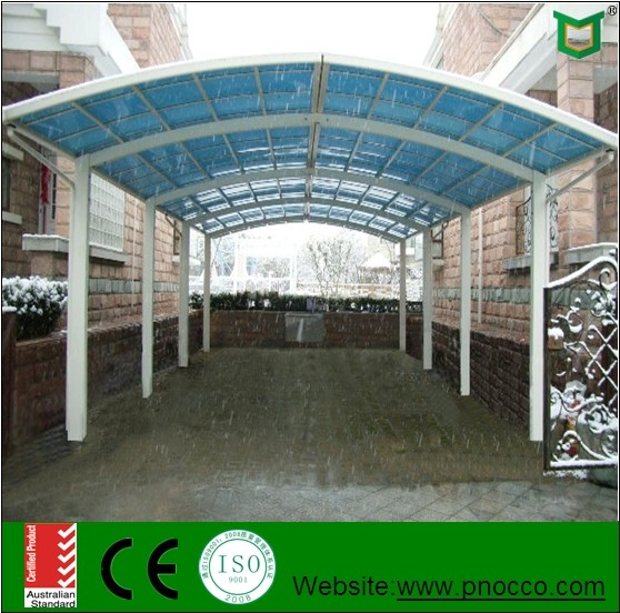 Car Shed Design Aluminum Car Shelter Polycarbonte Roof ...