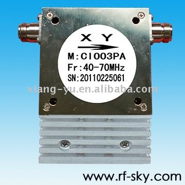 40-70MHz Coaxial Isolators
