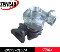 12 month warranty K18 material turbocharger TD04 for turbocharger 49177-01514 49377-08400