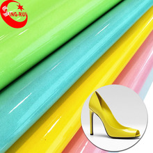 Wenzhou SING-RUI Shoe Material PU Patent Leather fabric Wholesale