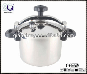 New Non-Explosive French Pressure Cooker with Double Handle