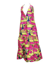 WAX101 ankara african wax print fabric dress