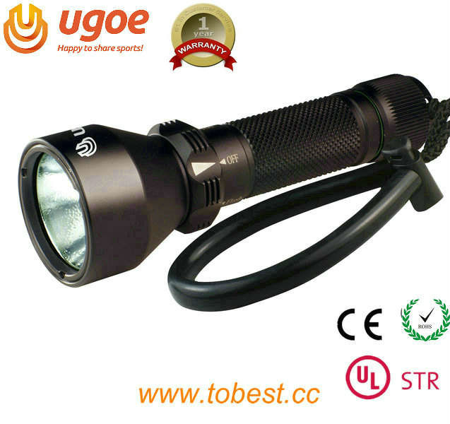 UGOE CREE XML-L2 underwater scuba diving 1000lm led diving torch 200 meter