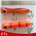 2015 new products tuna popper with high quality big game popper