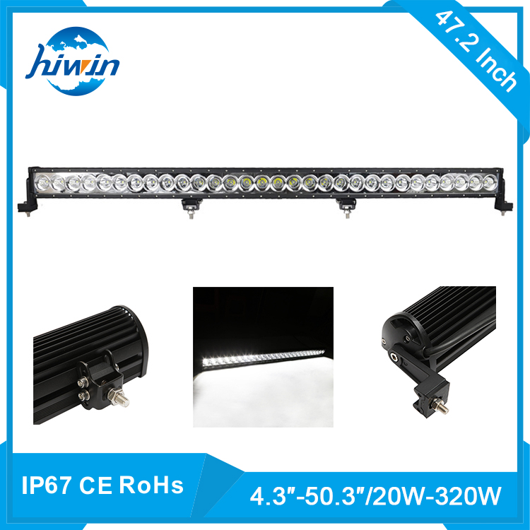 hiwin 120W LED Driving Light Bar Auto Led Work Lights For Truck Boat Off Road Ambulance YP-8108