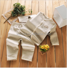 Promotion Of Infant Cotton Long Sleeved Warm Underwear Set