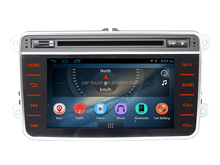 Radio, BT, DTV, 3G, Wifi, Double din car stereo, car dvd with GPS navigation for Volkswagen Tiguan2 2007- 2012