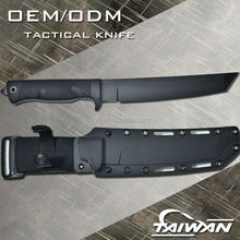 D2 Steel Army Tactical fighting knife