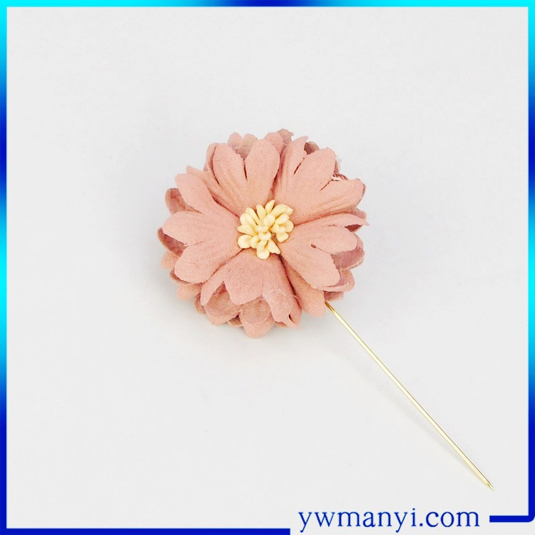Wholesale high quality cheap custom handmade flower korean hijab pins