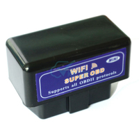 ELM 327 WIFI ELM327 24V WIFI OBDII OBD2 Auto Checker Car Diagnostic Tool Case For IPhone IOS PC IPad Car
