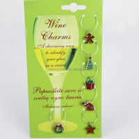 Fancy party drink cup wine glass identifier