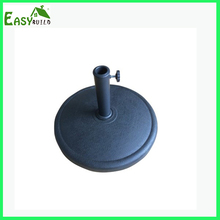 Black Outdoor Resin Umbrella Base