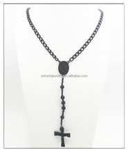Hot sell meaningful cross pendant necklace alloy pendant necklace