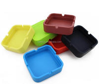 promotion gift wholesale cheap custom portable silicone cigar ashtray