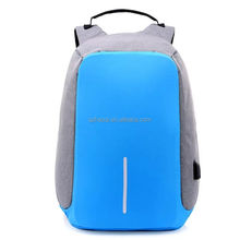 Manufacturers wholesale customized new notebook PC laptop nylon waterproof men and women backpack USB charging