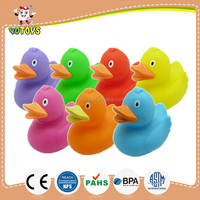 BPA free bath duck for children,phthalate free vinyl bath duck,rubber bath duck for sale