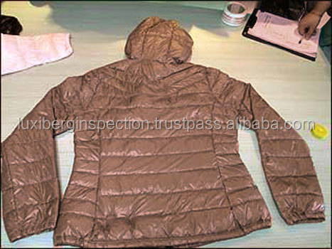 Down Jacket Quality Control Inspection Services in Beijing / Hebei /Shandong / Shanghai / Anhui / Jiangxi