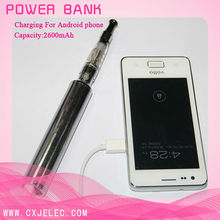 hot sell 2600mah E cigarette 2013 newest power bank