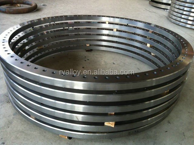 2016 high quality carbon steel flange weight ASTM A105 eia flange rf connector for 7/8 cable